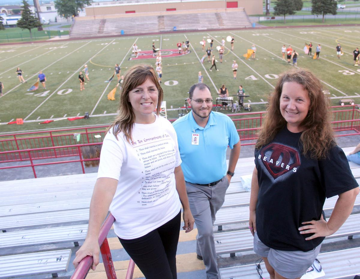 Band director and assistants