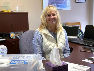 Jolene Hartle welcomes all with a friendly smile