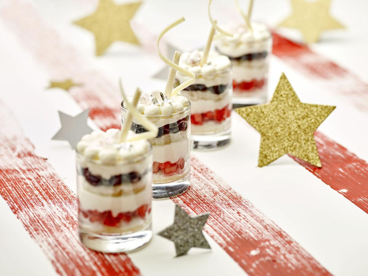 Food Culinary Institute of America Summer Berry Trifle