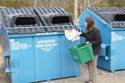 Donna Cooper recycling