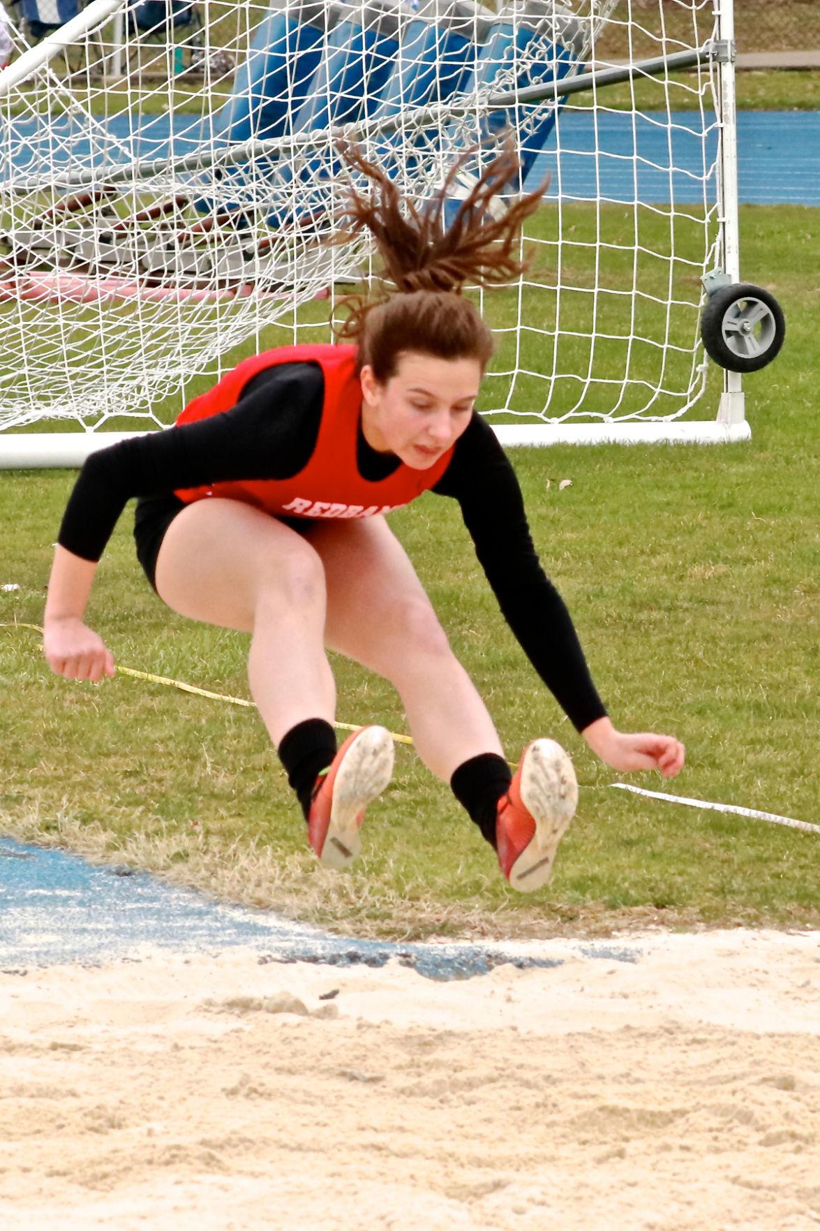 Elisabeth Hook triple jump