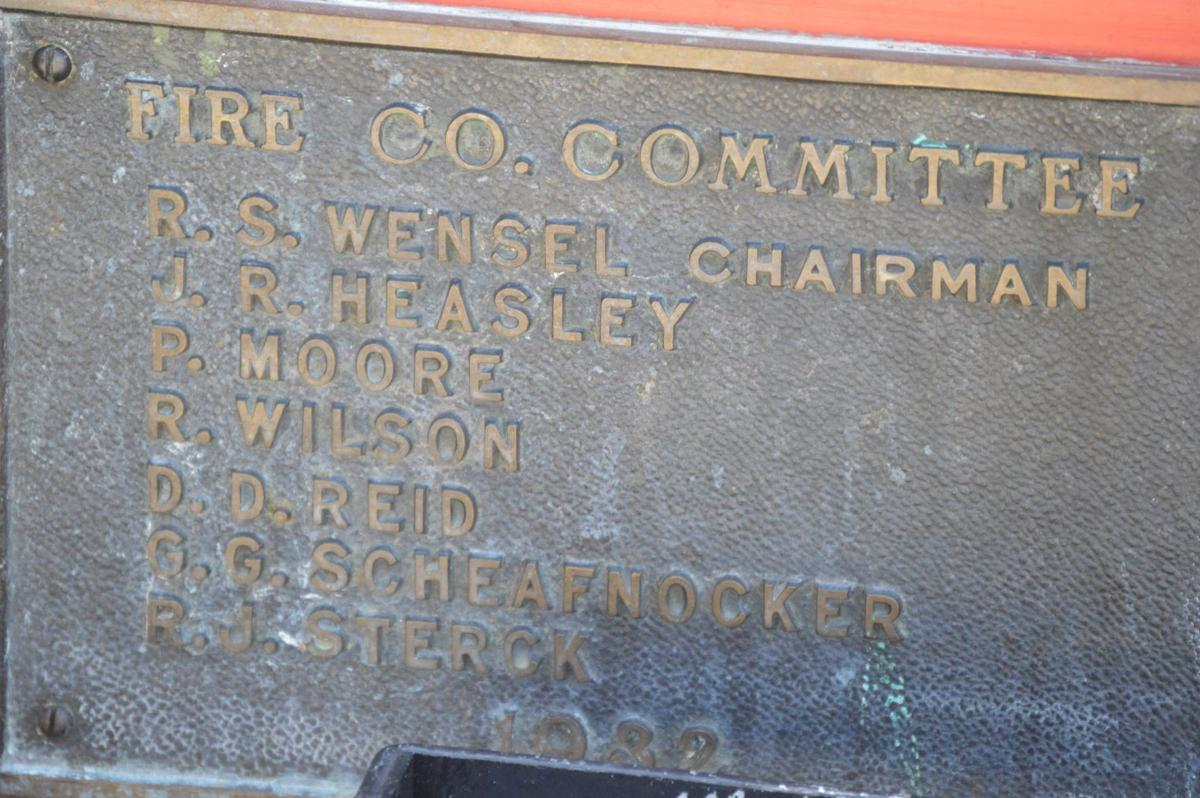 Fire Co. committee