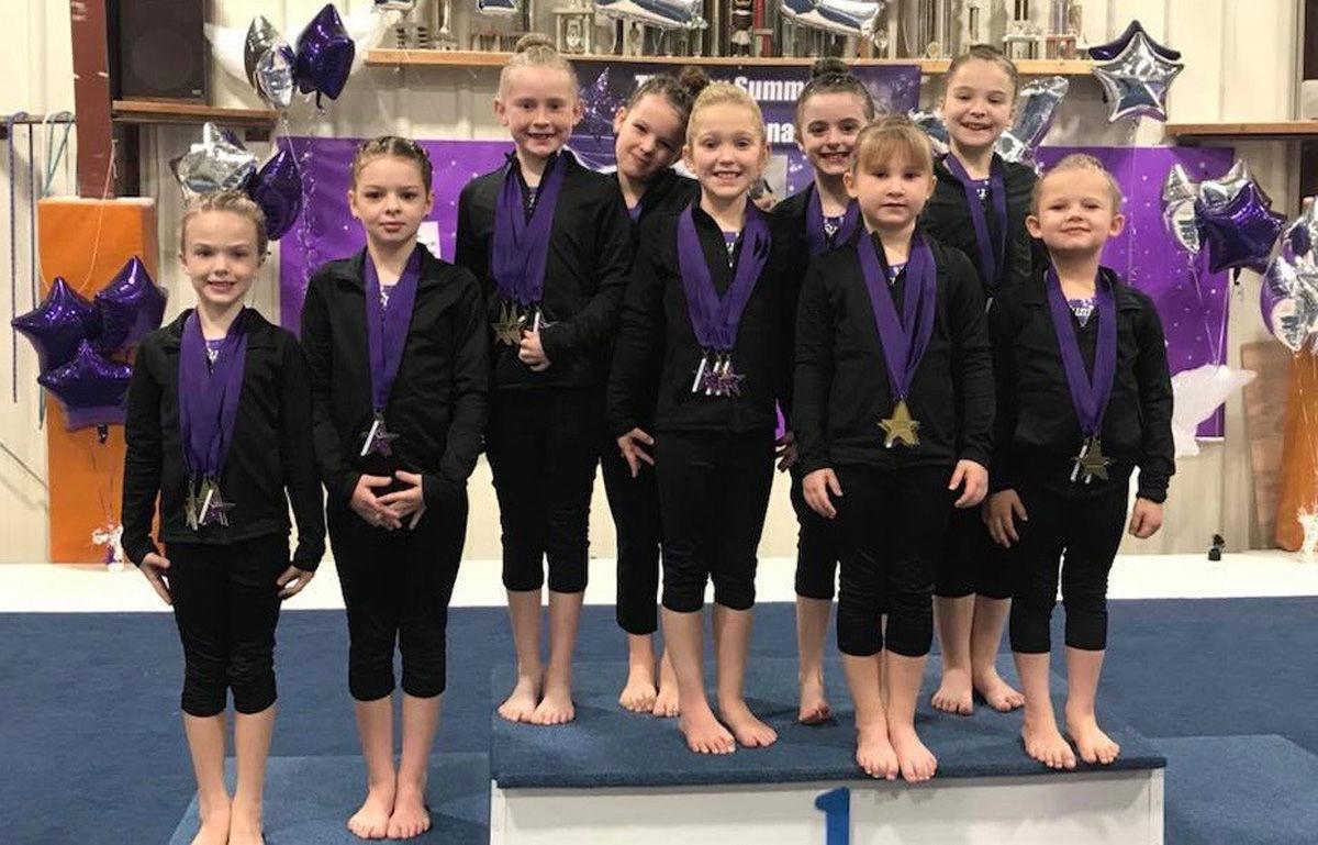 Silver and Bronze competitors