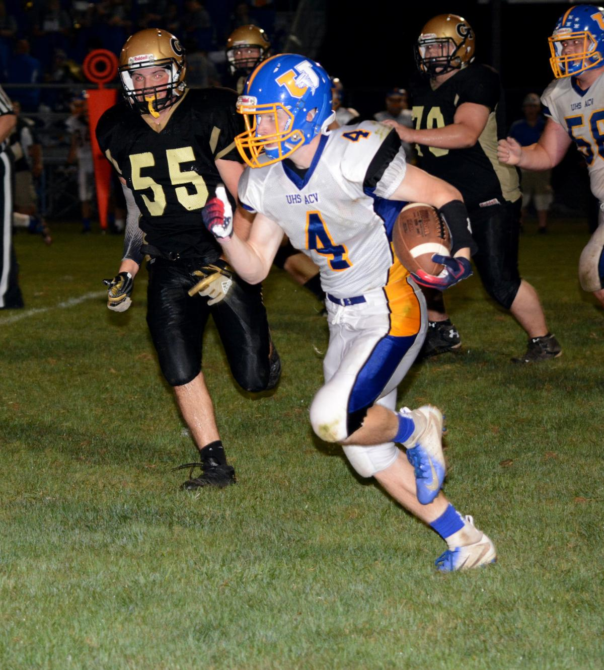 Snyder catch vs. Curwensville