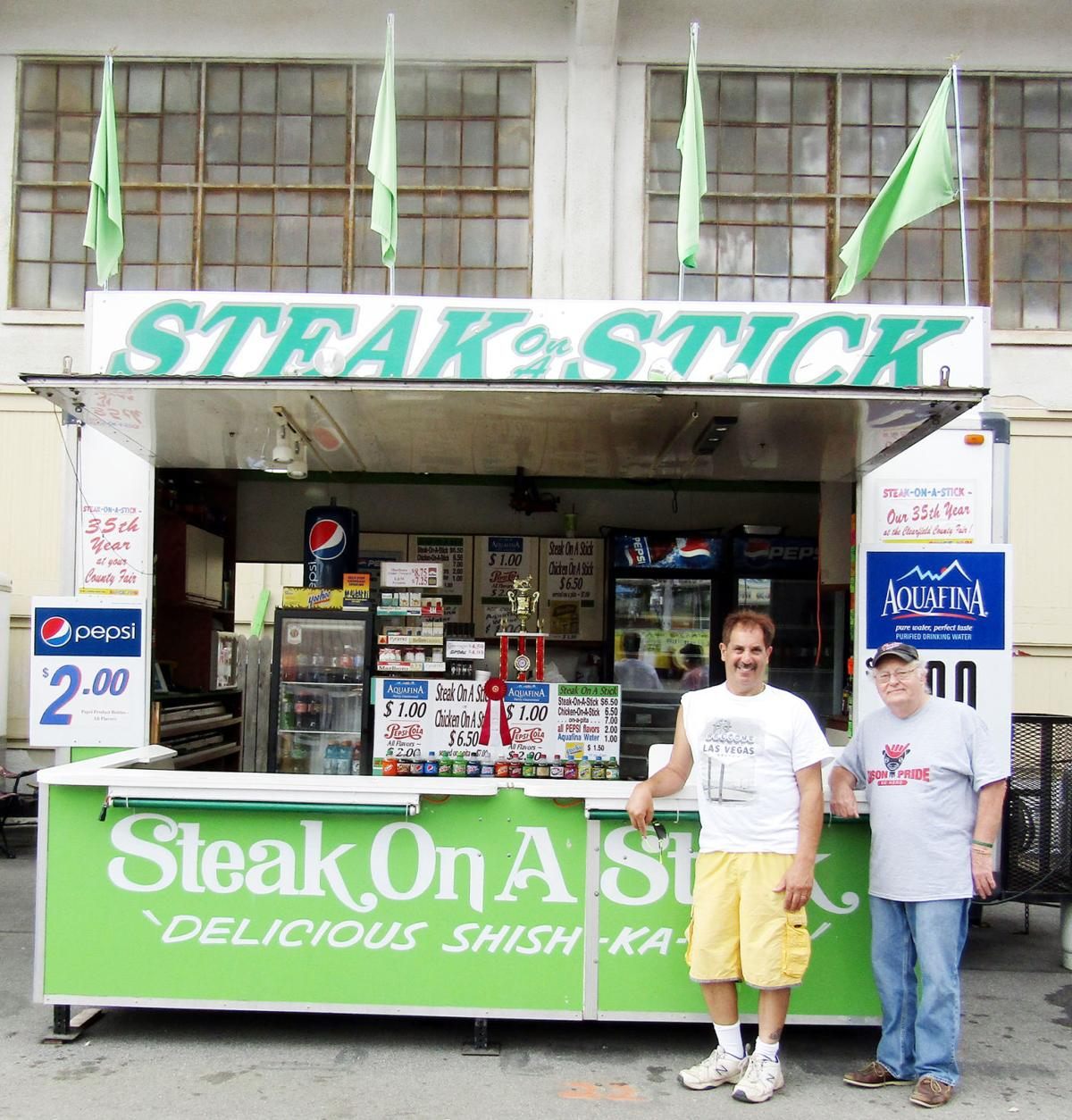 Steak on a Stick a Clearfield County Fair staple since 1981
