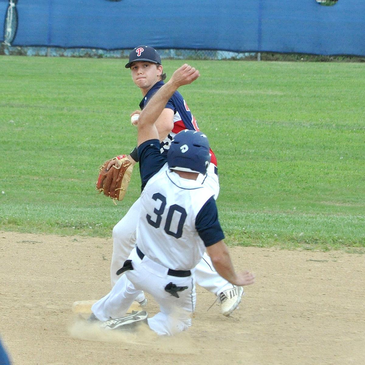 Frank forceout at second base
