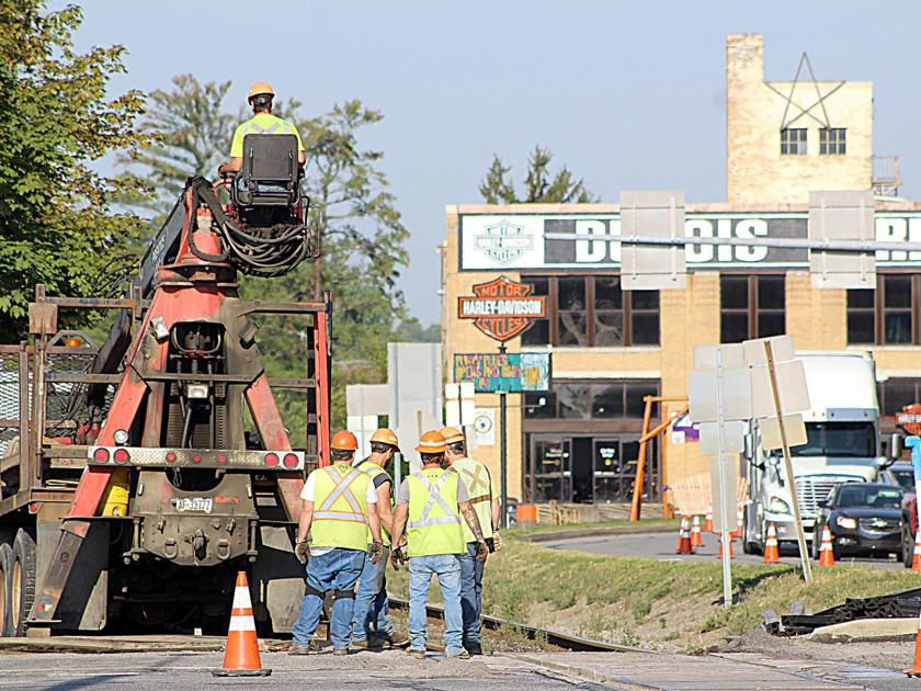 Railroad work begins on Liberty Boulevard in DuBois | News