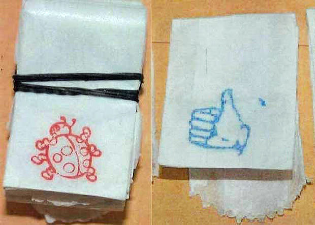 Stamp bags