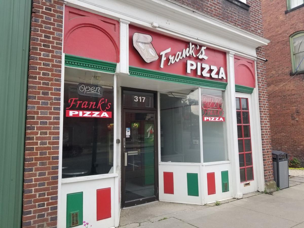 Frank's Pizza building
