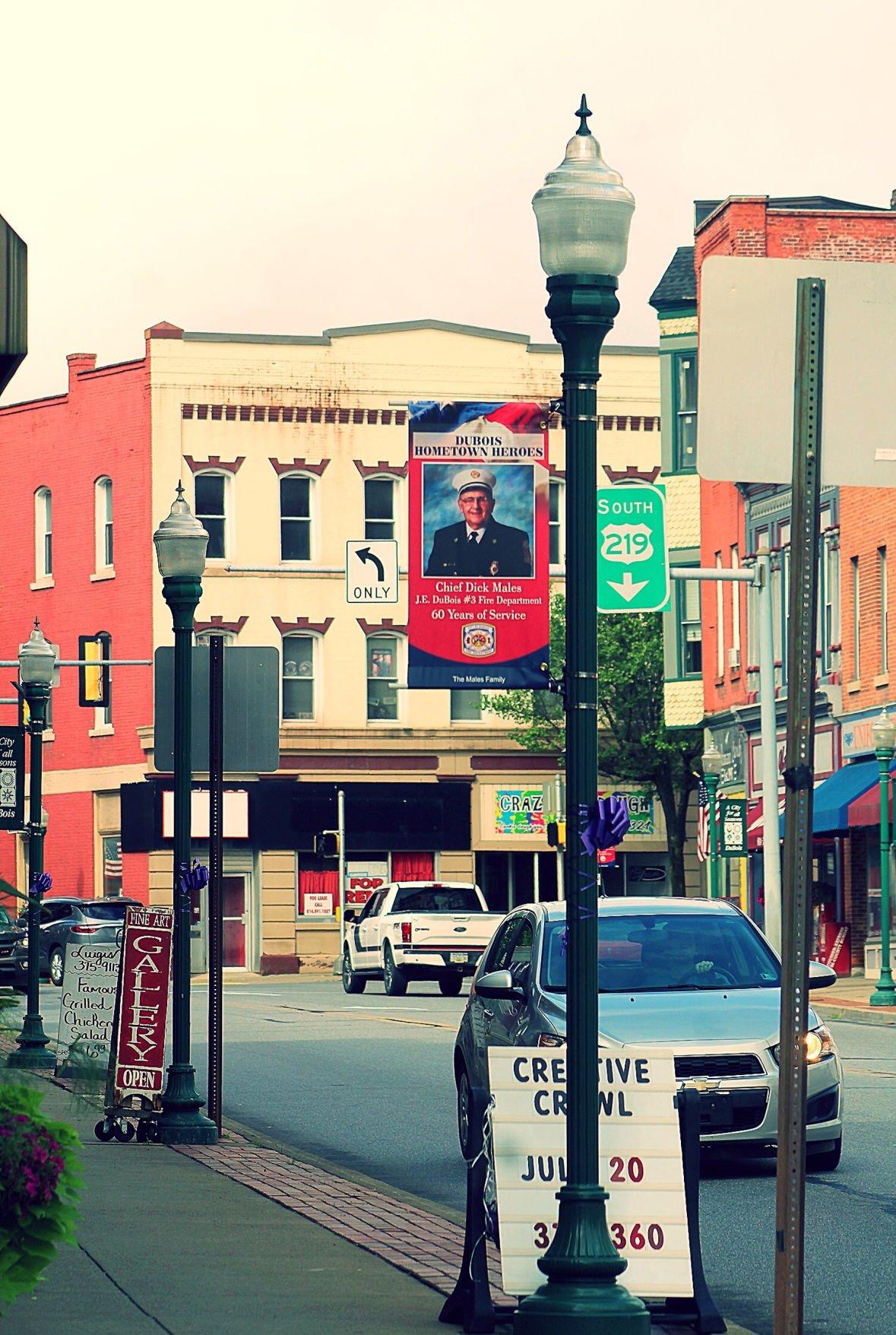 Downtown DuBois Hero banner