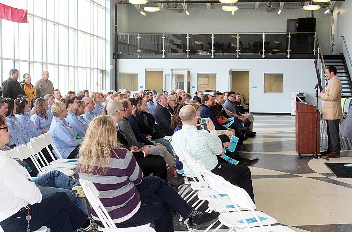 Danone North America formally opens new building at DuBois facility