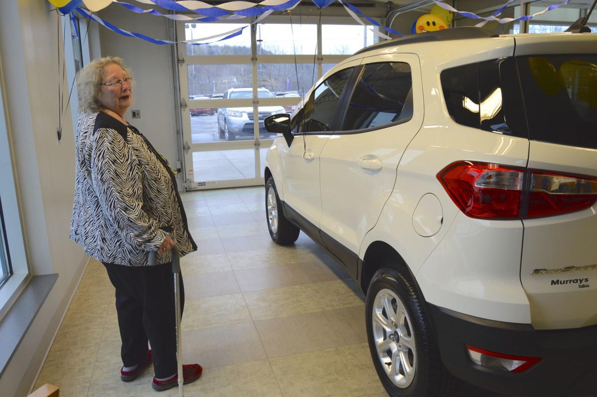 Murray Ford Dubois Pa >> Luthersburg Woman Honored As Car Raffle Winner At Murray S