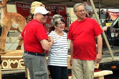Clarion BBQ Festival trio