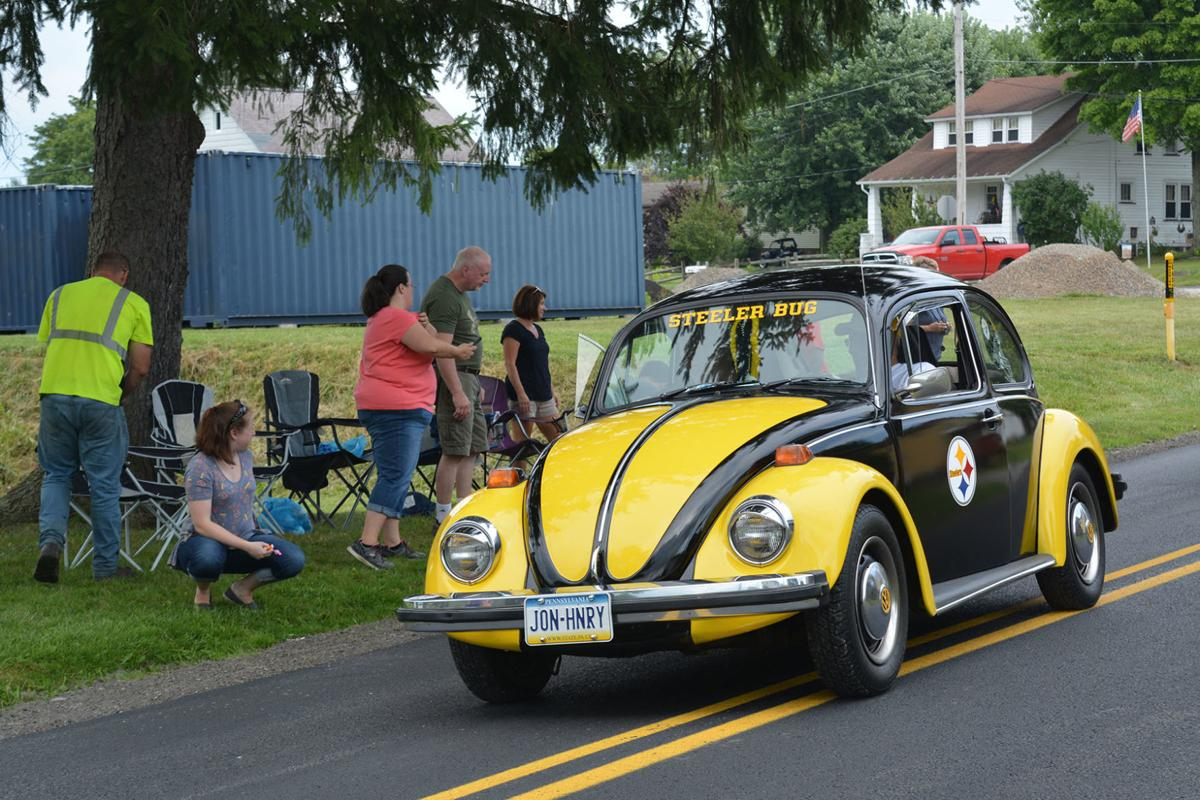 Car in parade