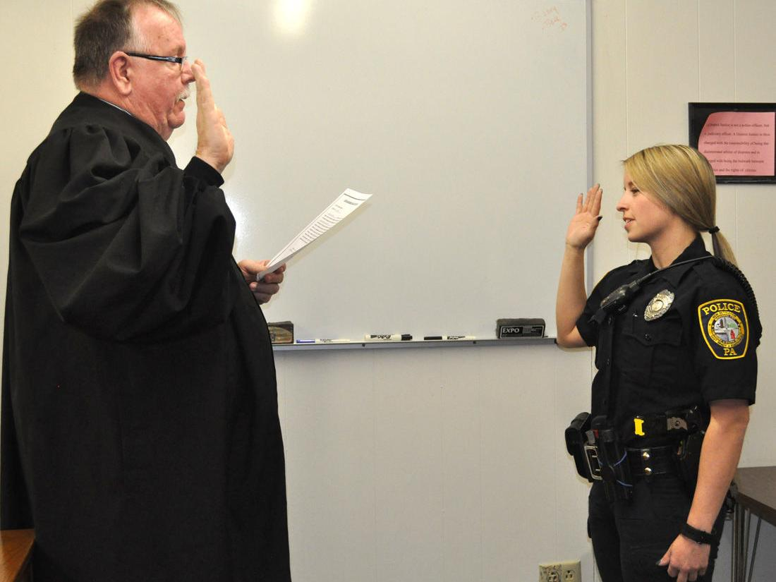 NB Police Officer Sworn In