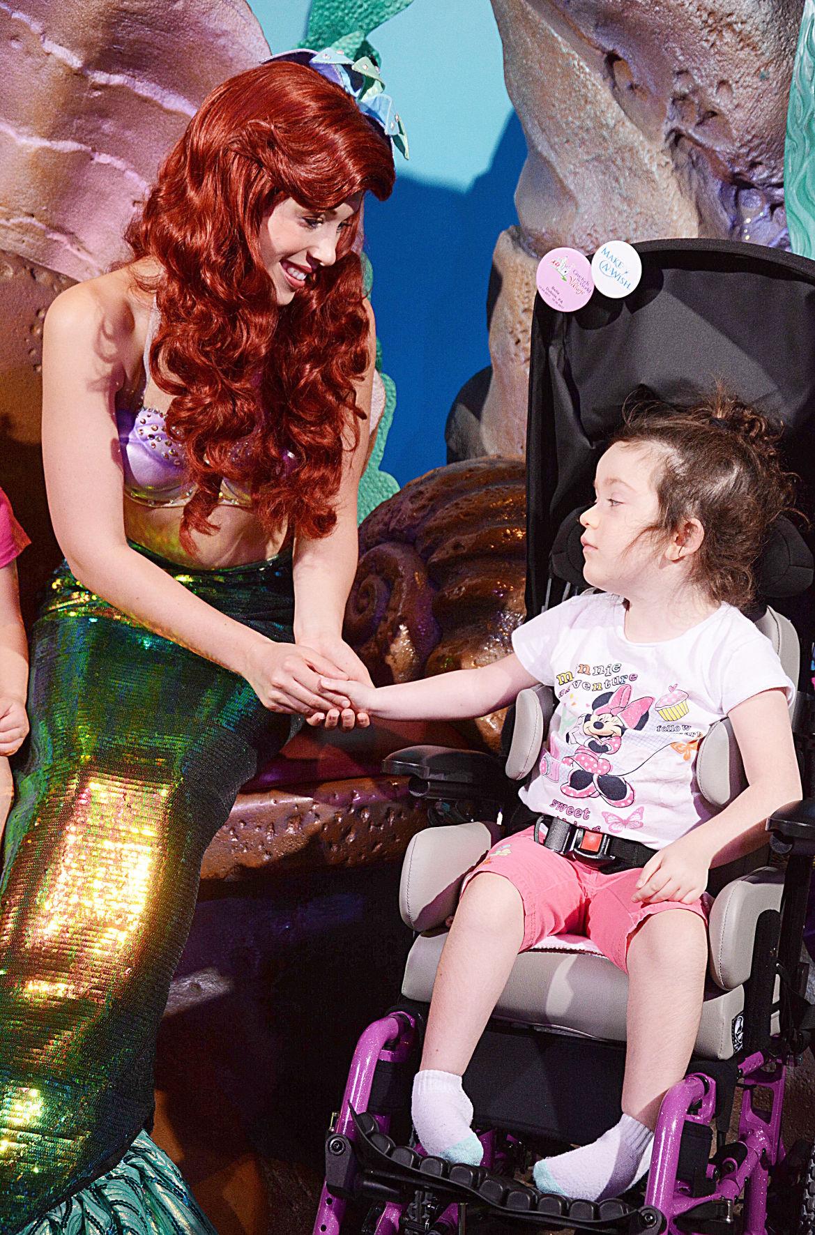 Bella and Ariel