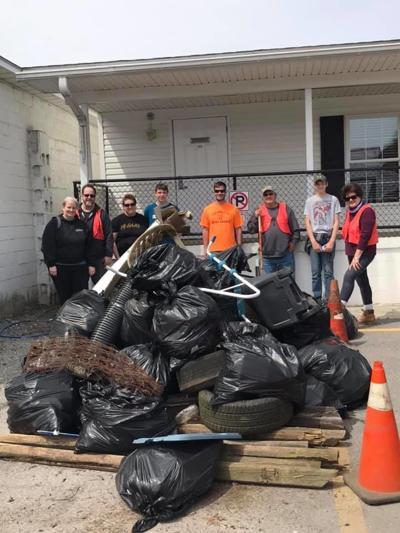 Houtzdale Revitalization Association clean-up day