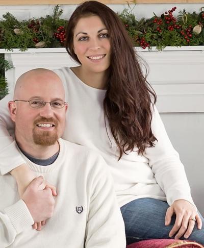 Jeremy Hauptner and Caitlin Uplinger