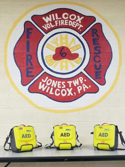 Wilcox Vol. Fire Department AEDs
