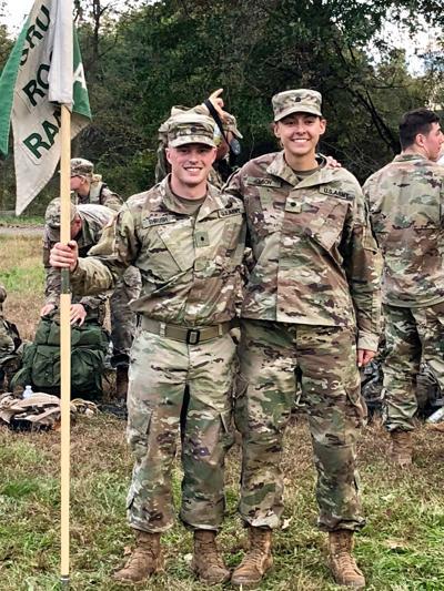 Thrush and Olson Army Ranger Challenge