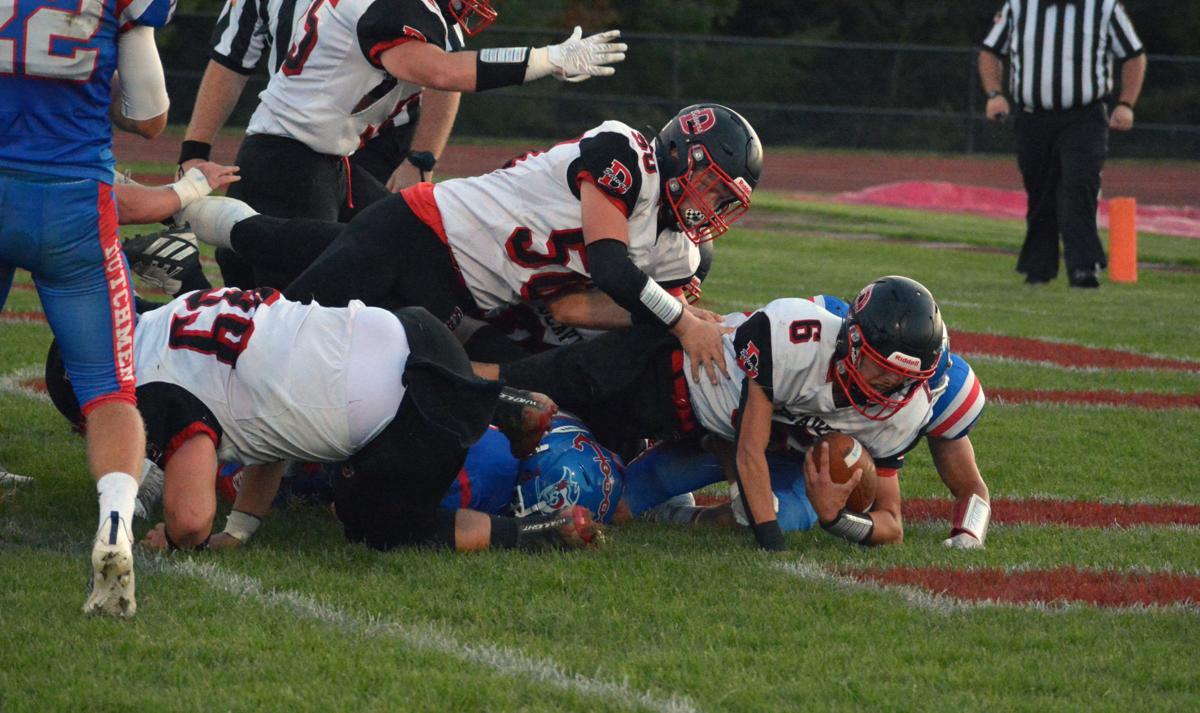 Austin Mitchell touchdown