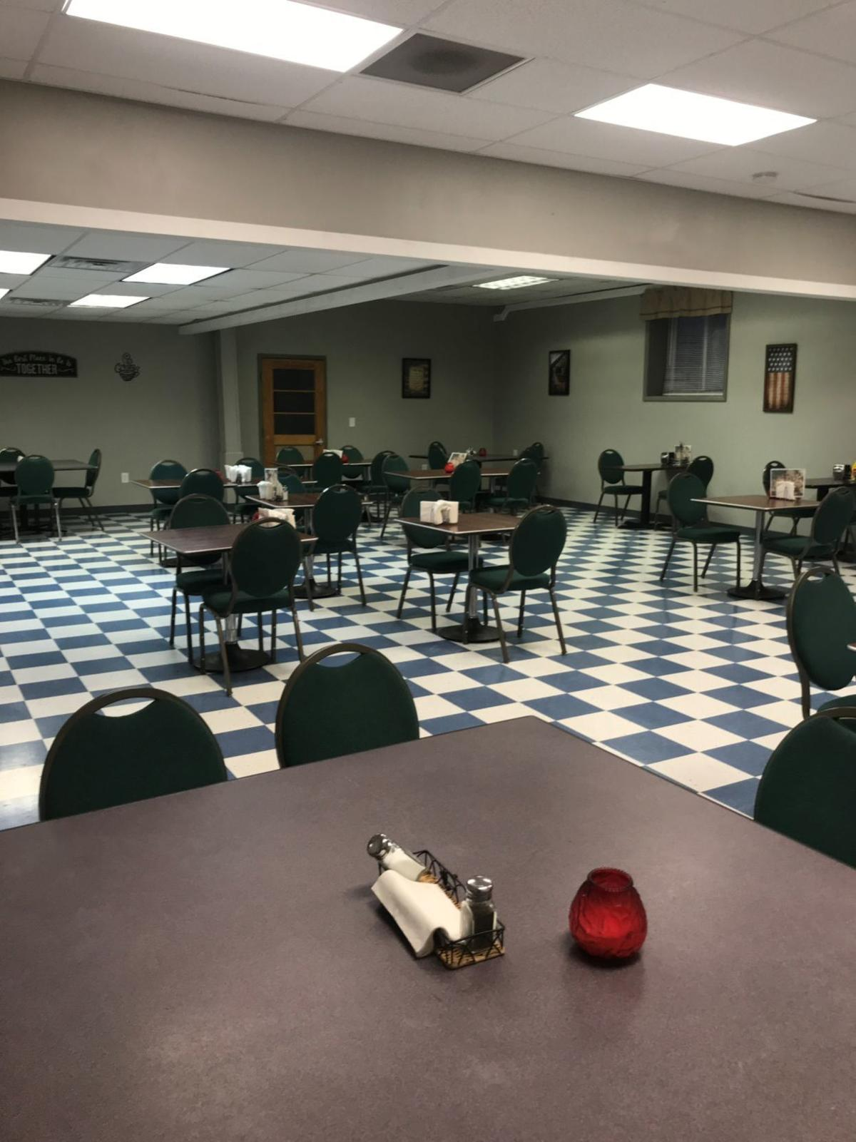 Reliance Firemen's Club dining room