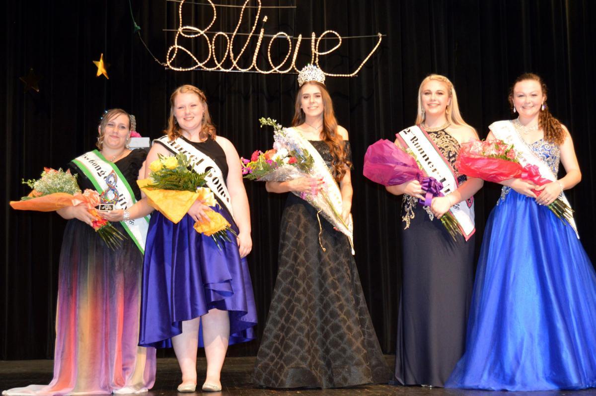 2018 Brookville Laurel Festival Queen and Court