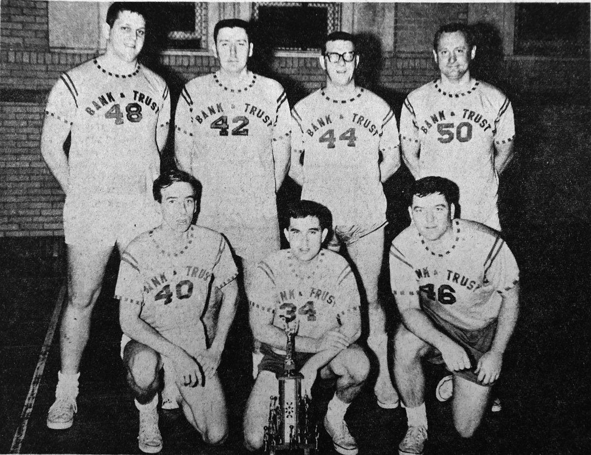 City League champs 1969