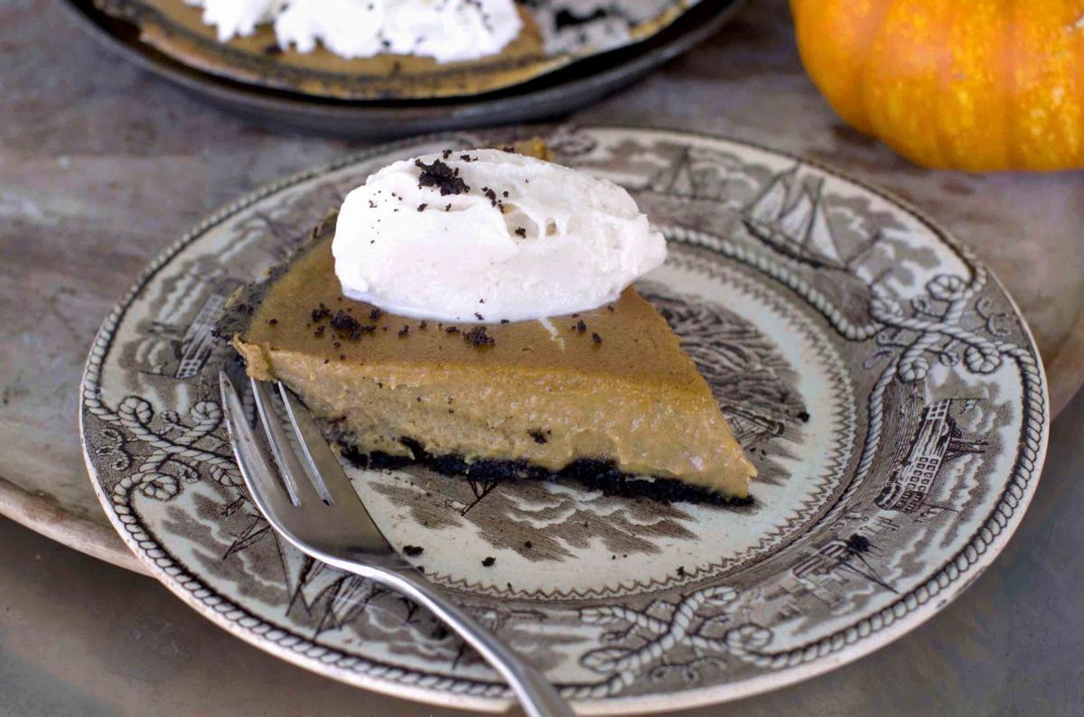 Cream cheese produces ultimate creamy pumpkin pie