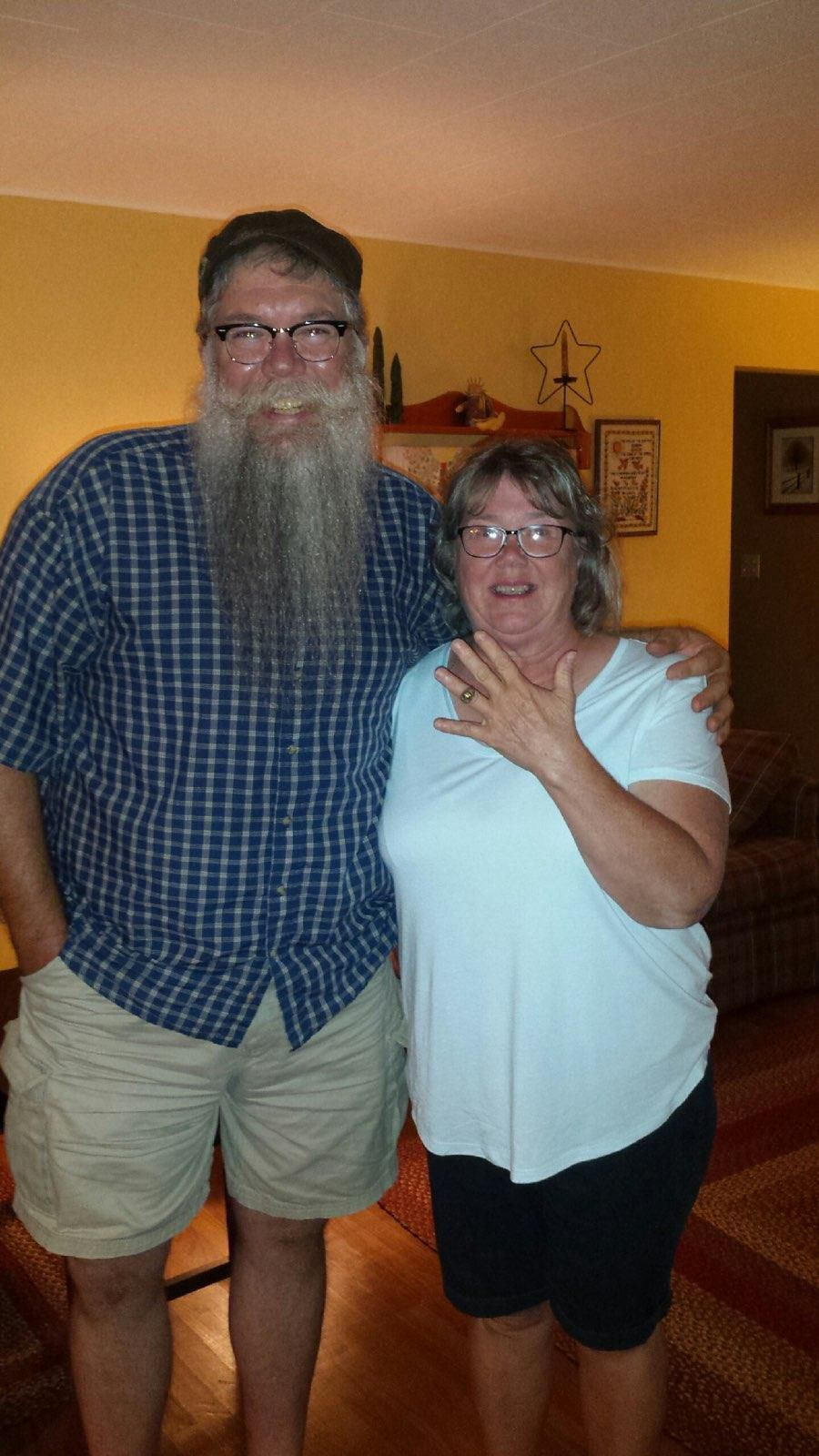 Hank Fritsch and Sue Greathouse