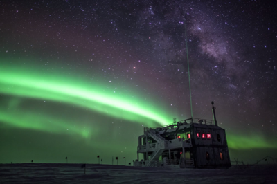 View from the Antarctica