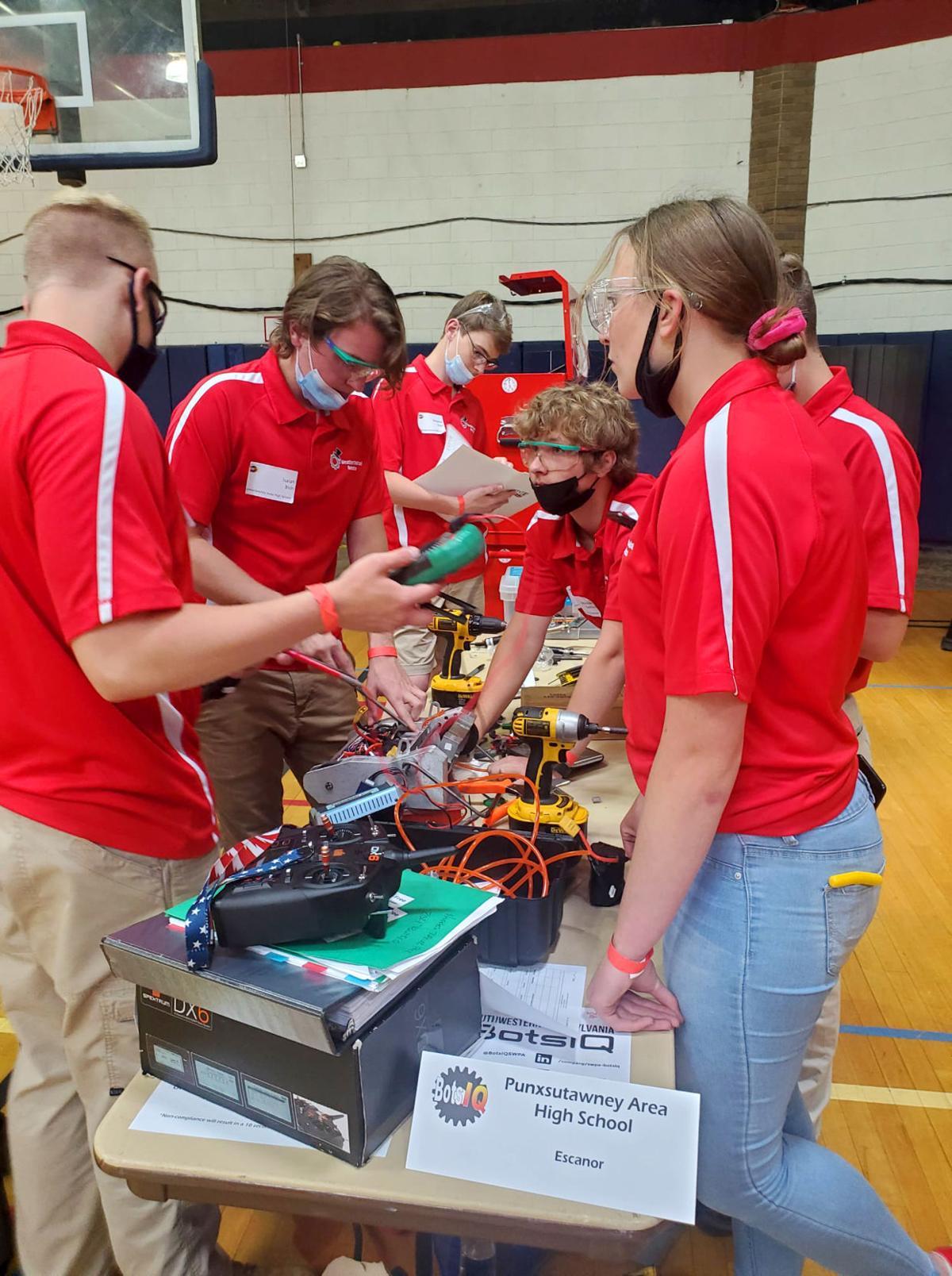 Punxsutawney Robotics Team Escanor