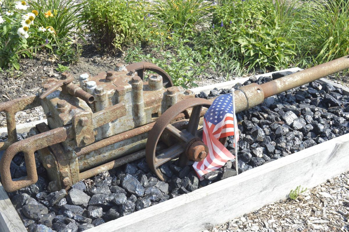 Coal memorial front