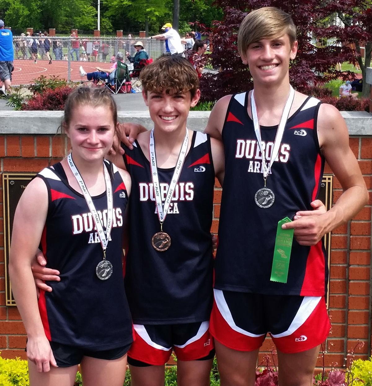 DAMS track medalists