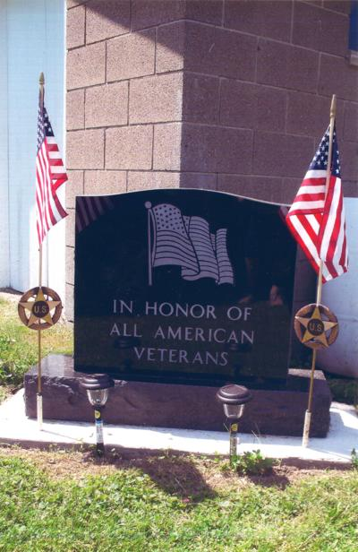 Veterans Memorial placed in Coolspring