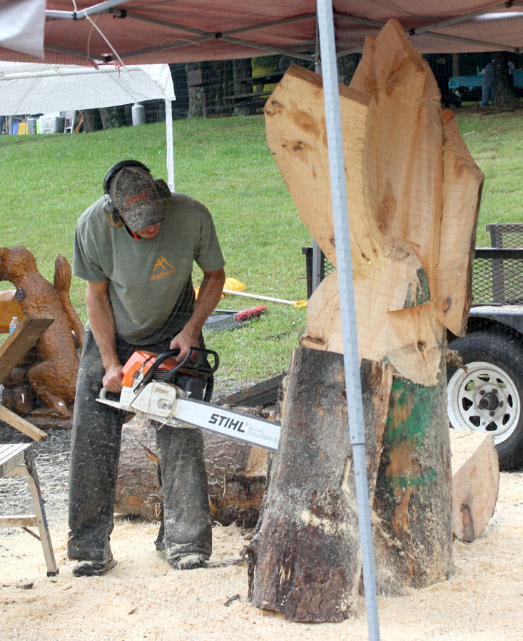 Cook Forest Chainsaw