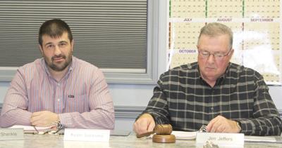 Newly elected Sandy Township Supervisor Salandra