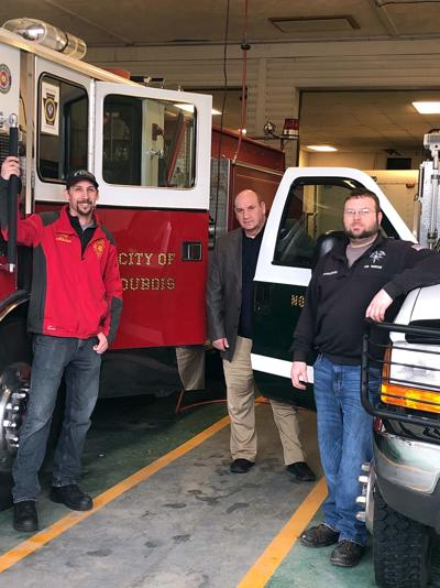 DuBois VFD loans engine to North Point Fire Co.