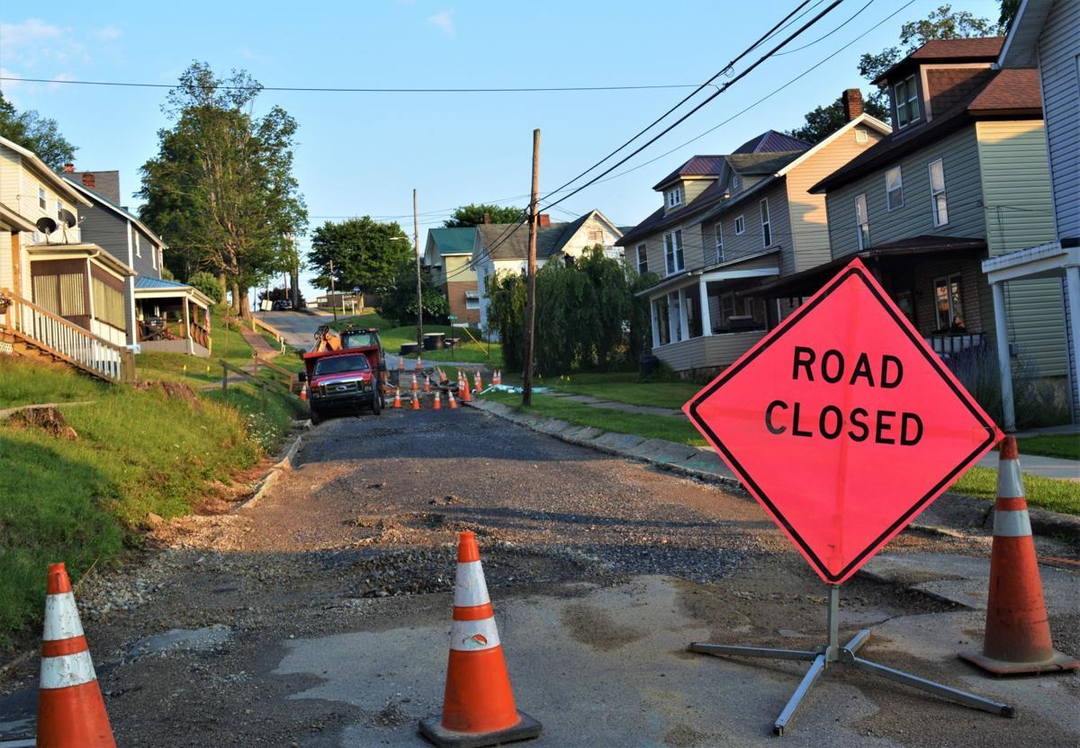 Grant Street closed