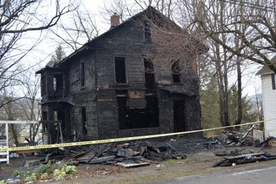 Western Ave. Fire aftermath