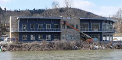 RIVER'S LANDING WORK CONTINUES