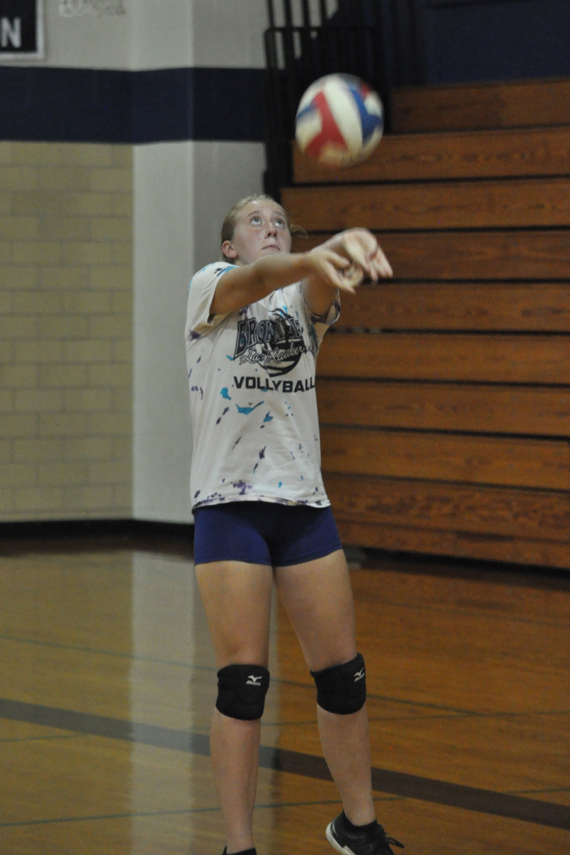 Julia Bailey VB practice