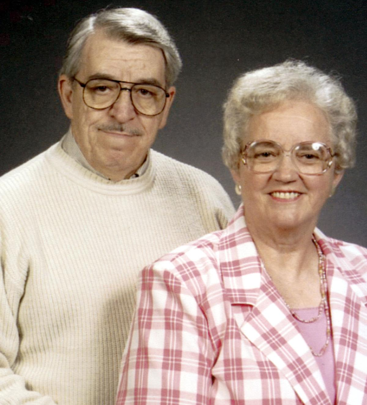 Mr. and Mrs. George Ross celebrate 50th wedding anniversary