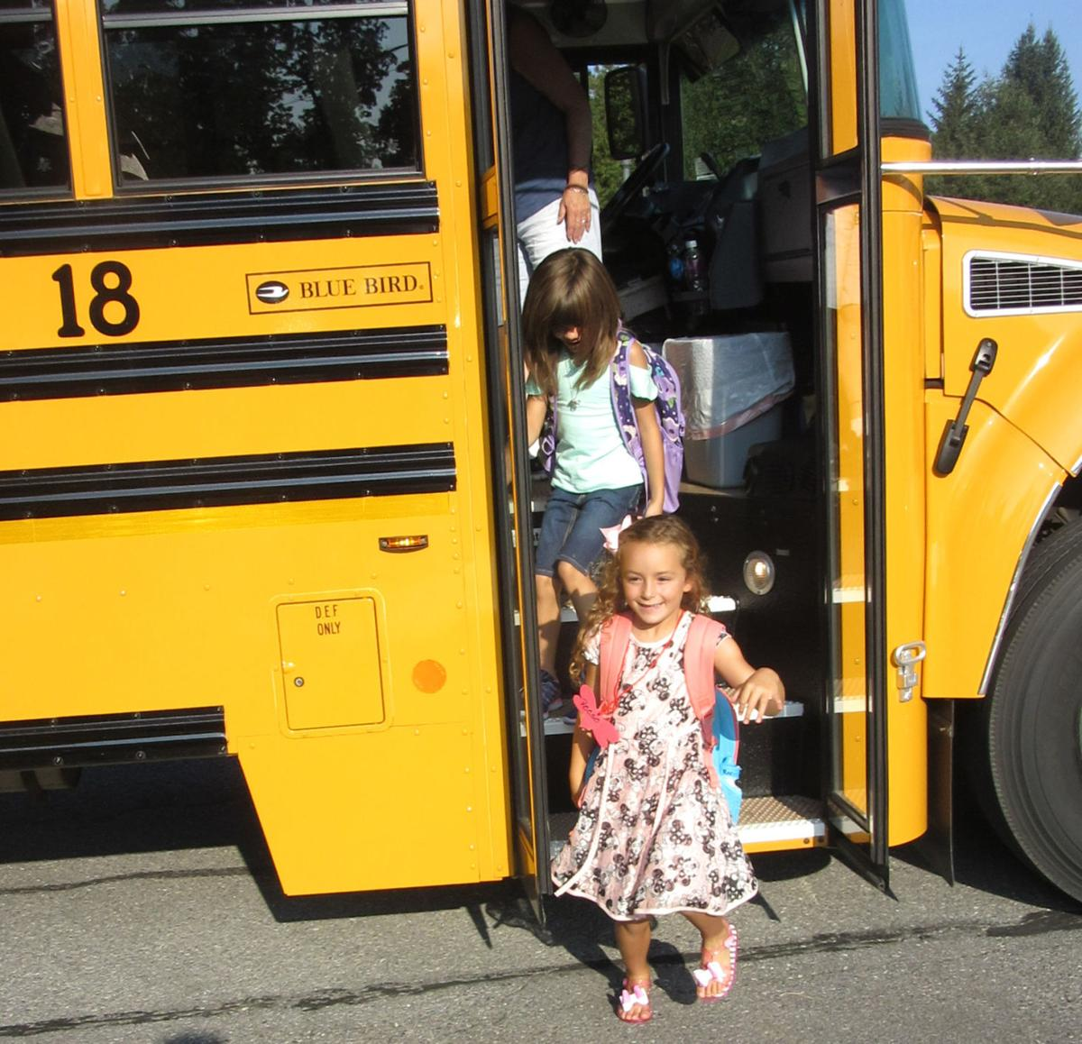 All smiles on first day of school