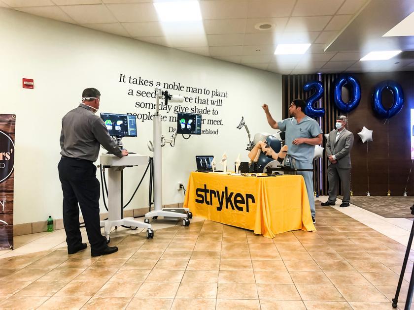 Penn Highlands Celebrates 200th Mako Robotic Joint Replacement Surgery    News