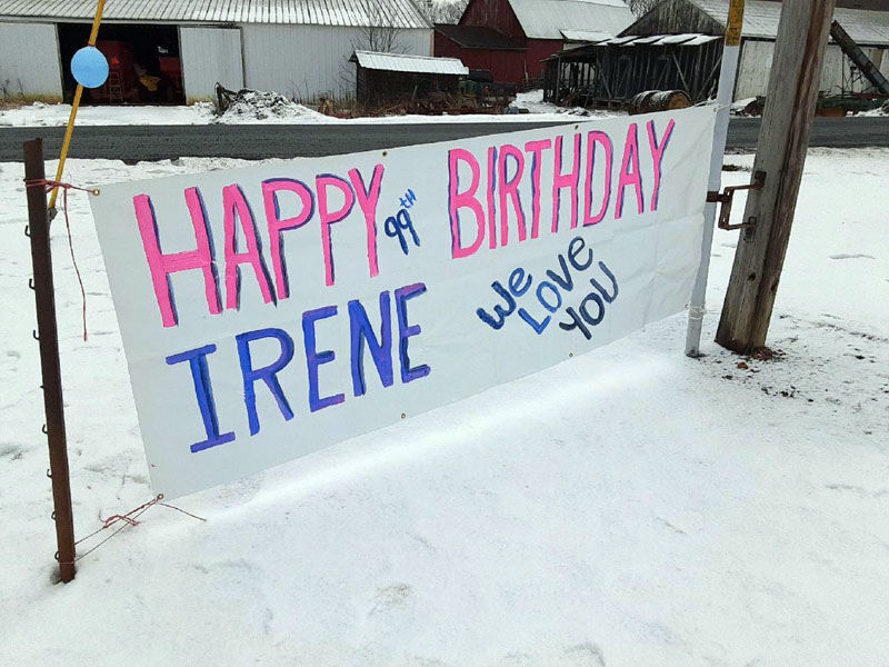 FOREST WOMAN birthday sign