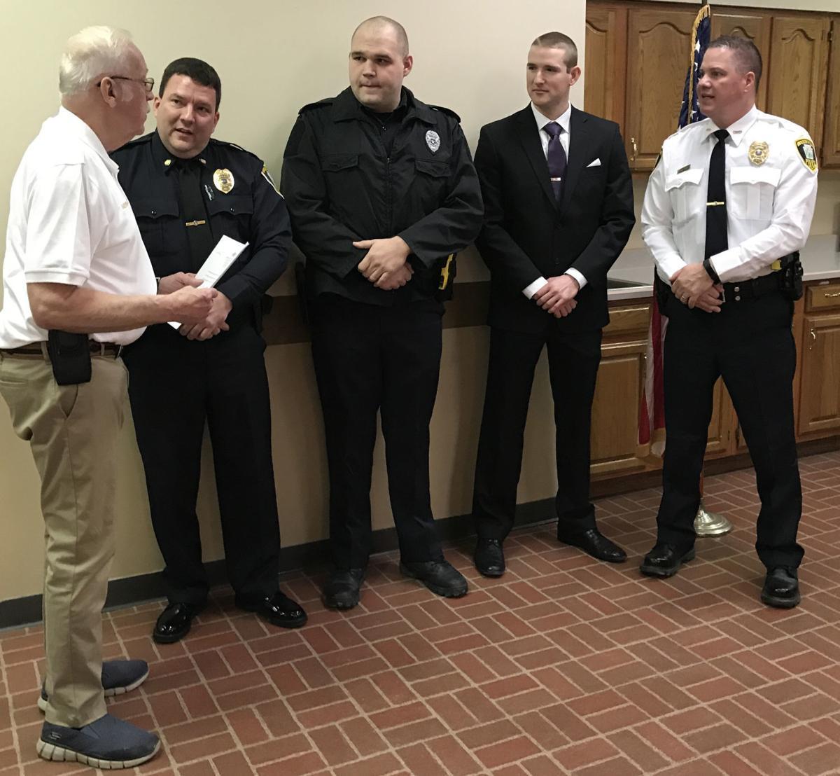 Police officers sworn in