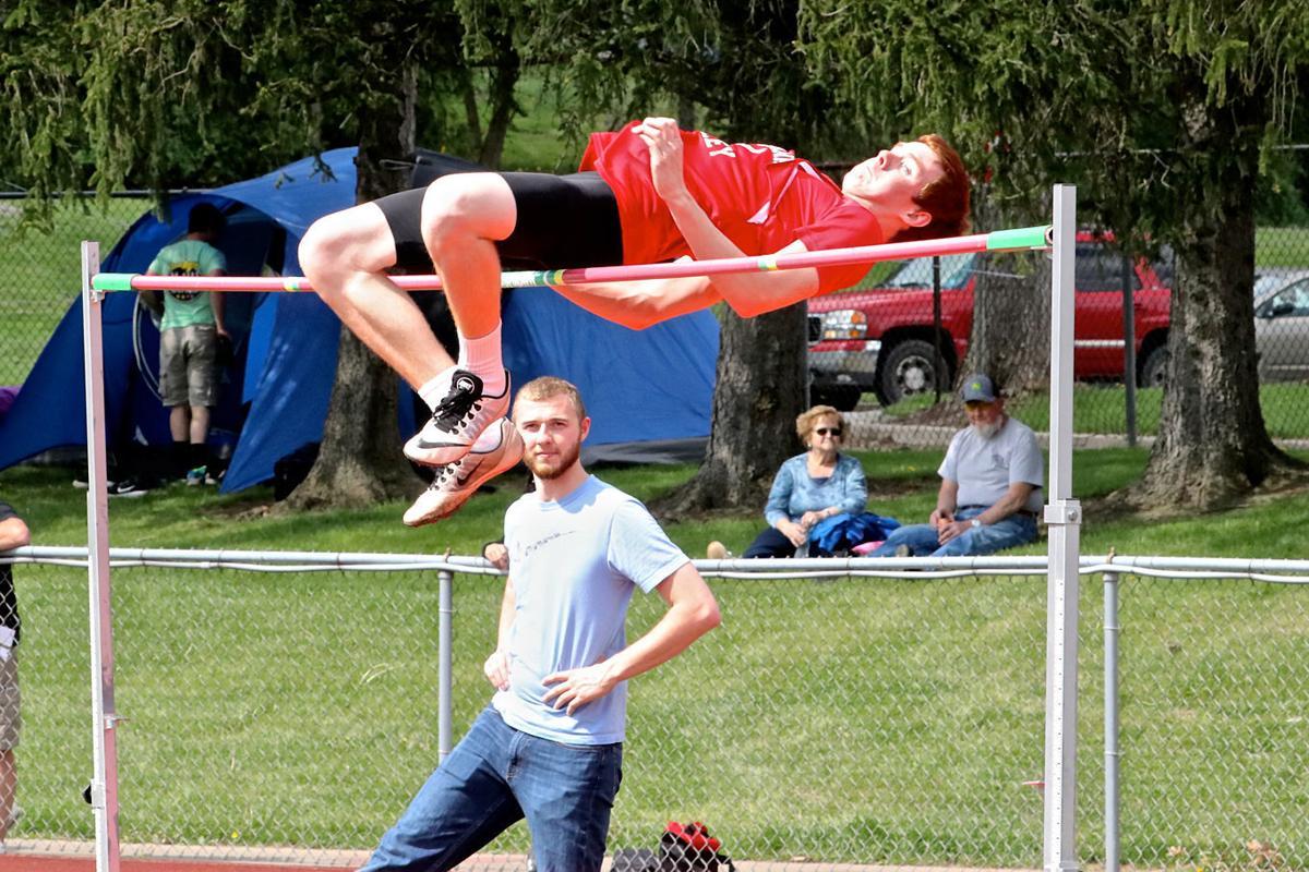 Sam Hetrick high jump
