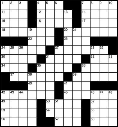 Crossword Puzzle And Clues Thecourierexpress Com