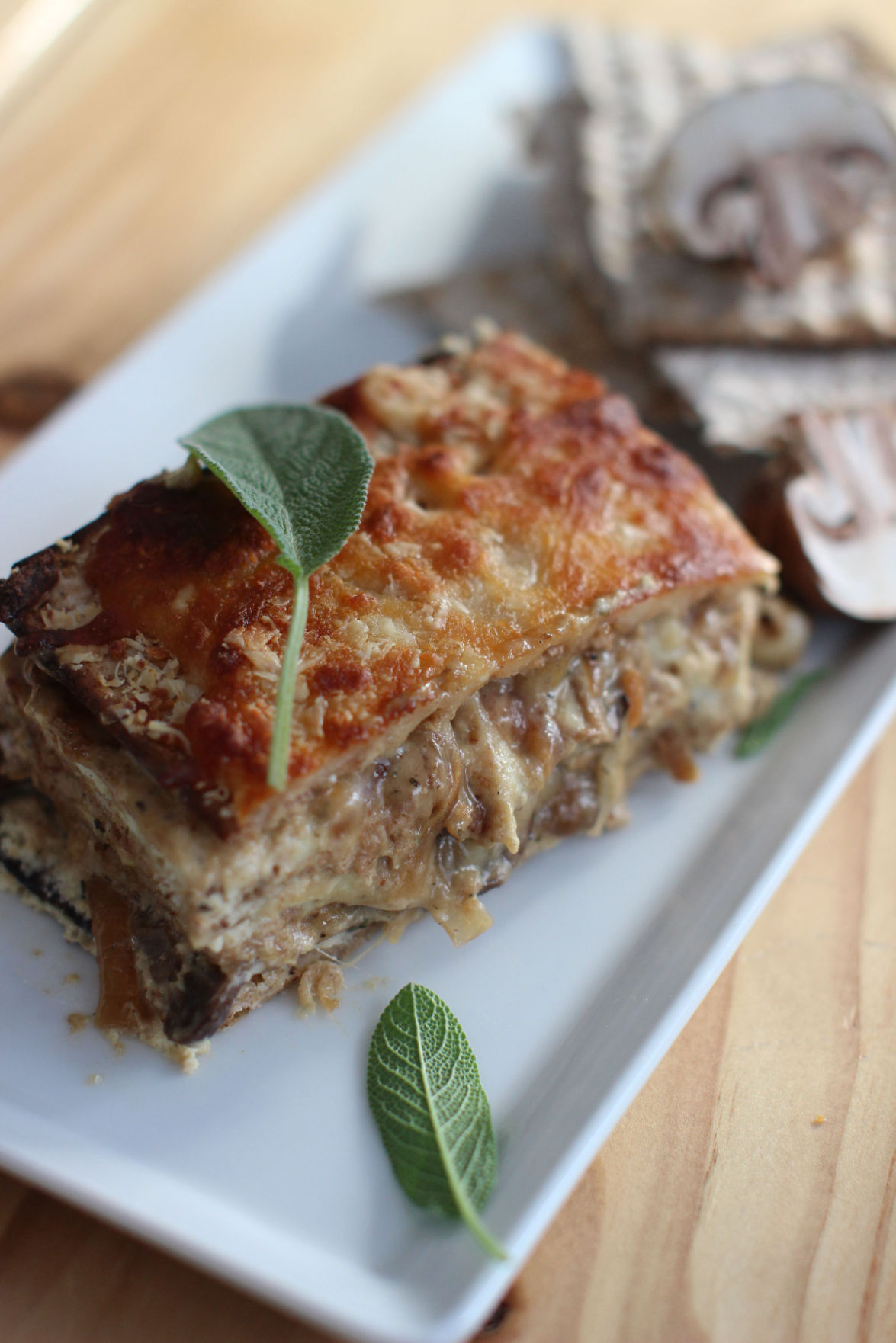 Matzo as pizza? No thanks. But as lasagna is another story
